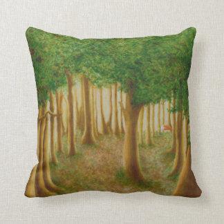 Foxy Forest Cushion