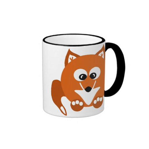 Foxy Fox Cartoon Mug