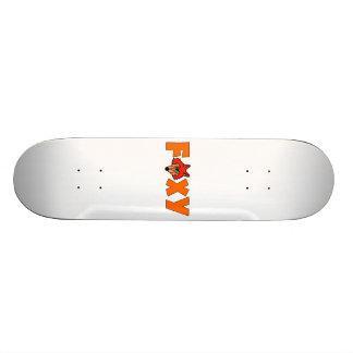 Foxy Fox Skate Board