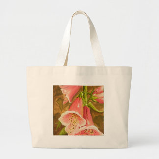 Foxy Foxglove of Williamsburg.JPG Large Tote Bag