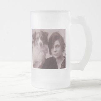 Foxy Freedom band sepia photo coffee mug