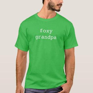 foxy grandpa t-shirt