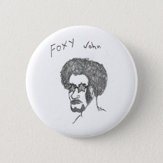 Foxy John 6 Cm Round Badge