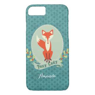 Foxy Lady Argyle iPhone 7 Case