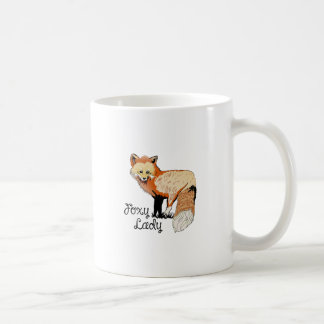 FOXY LADY COFFEE MUG
