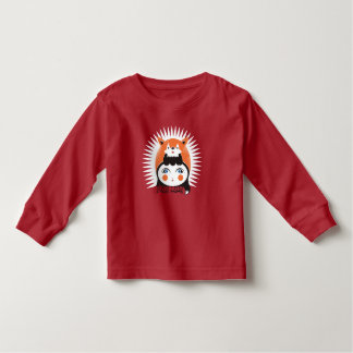 Foxy Lady, Toddler Long Sleeve T-Shirt