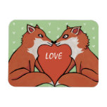 Foxy Love Premium Magnet