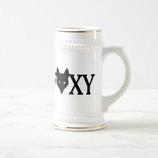 Foxy 18 Oz Beer Stein