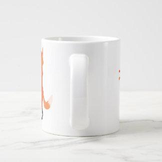 Foxy mug 20 oz large ceramic coffee mug