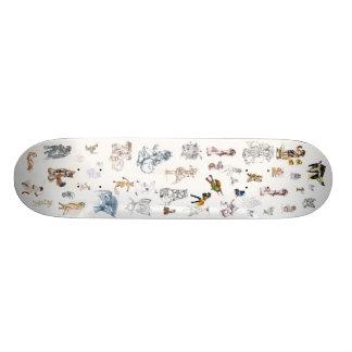 Foxy Custom Skate Board