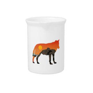Foxy Sunset Pitcher