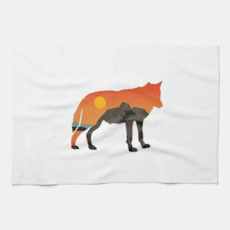 Foxy Sunset Tea Towel