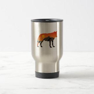 Foxy Sunset Travel Mug