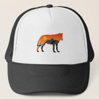Foxy Sunset Trucker Hat