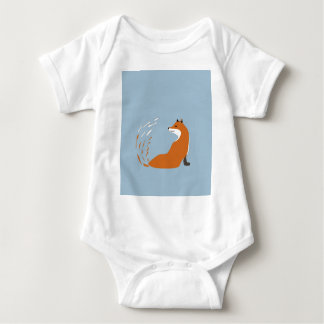 Foxy Takes The Pose Baby Bodysuit