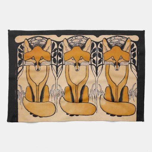 Foxy Kitchen Towels