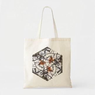 Foxy Triad Tote Bag