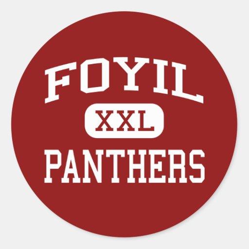 Foyil - Panthers - High School - Foyil Oklahoma Sticker