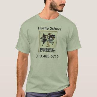 fr15, Hustle School, 313.485.6719 T-Shirt