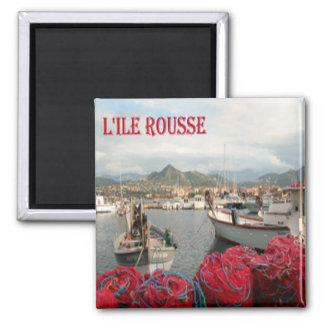 FR - Corsica - Red Island Magnet