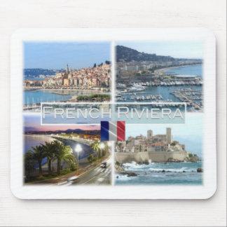 FR France  - French Riviera - Côte d'Azur - Mouse Pad