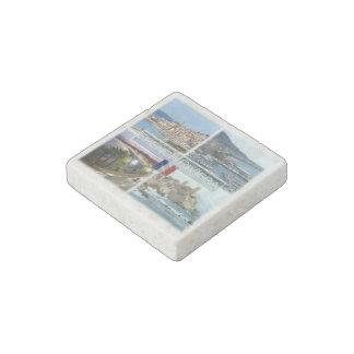 FR   France - French Riviera - Côte d'Azur - Stone Magnet