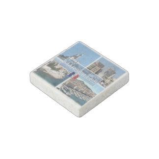 FR France - Marseilles - Notre-Dame de- a Garde Stone Magnet