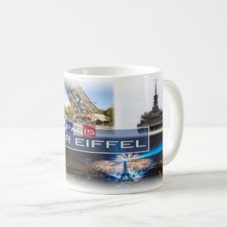 FR  France - The Eiffel Tower Paris - Coffee Mug