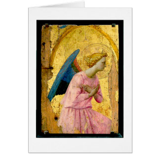 Fra Angelico Angel Christmas Note Card