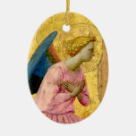 Fra Angelico Angel Christmas Ornament