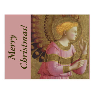 Fra Angelico Angel Christmas postcard