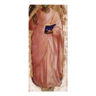Fra Angelico- St Matthew Rack Card Design