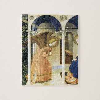 Fra Angelico The Annunciation Jigsaw Puzzle