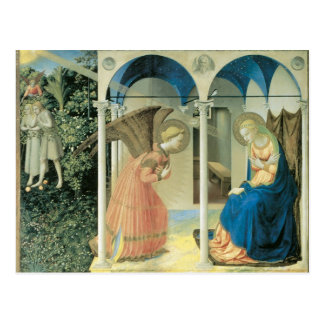 Fra Angelico - The Annunciation Post Card