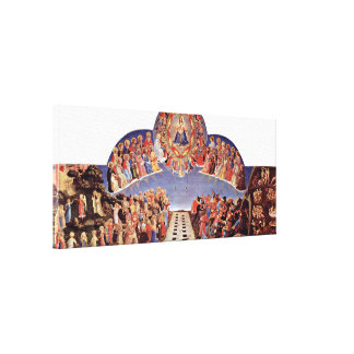 Fra Angelico - The Last Judgement Canvas Print