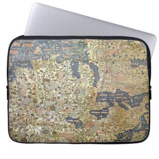 Fra Mauro Map Laptop Sleeve