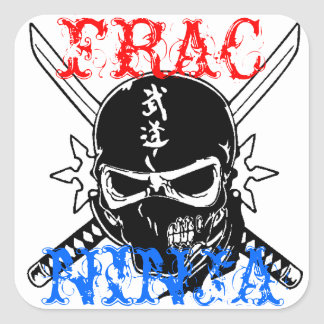 FRAC SQUARE STICKER