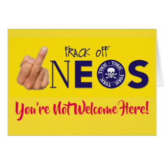 Frack Off INEOS Card