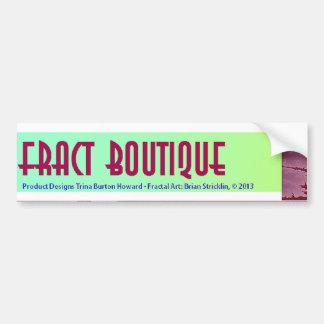 Fract Boutique - Fractal Art Bumper Sticker