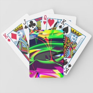 Fractal 2017 One Bicycle Playing Cards