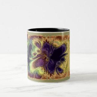 Fractal 25 Two-Tone mug