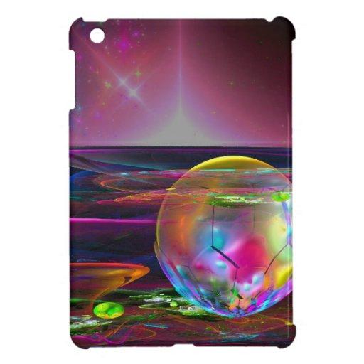 fractal-292069 FANTASY SCIENCEFICTION SPACE ALIEN iPad Mini Cases