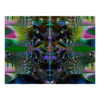 Fractal 3144-2 posters