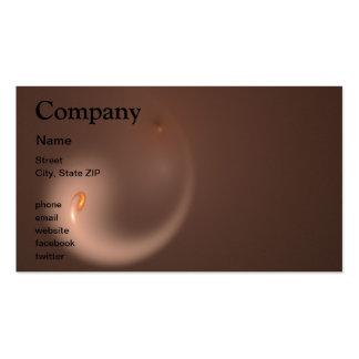 Fractal 37 Orange Flair Business Card Templates