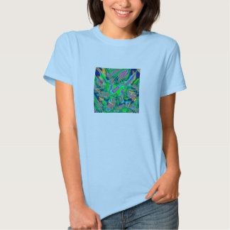 Fractal 38,Ladies Baby Doll (Fitted) Tshirt
