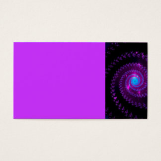fractal-415456 fractal spiral space galaxy abstrac business card