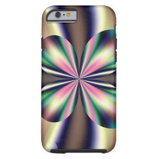 Fractal 4-leaf tough iPhone 6 case