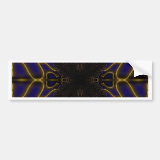 Fractal 597 bumper sticker