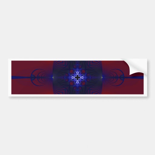 Fractal 753 bumper stickers