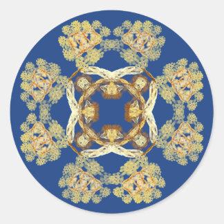Fractal 8-Pattern Sticker